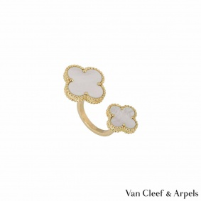 Van Cleef & Arpels Magic Alhambra Between the Finger Ring VCARN05500